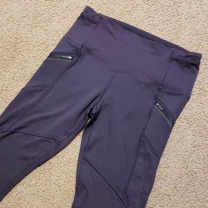Lululemon Athletica Purple Leggings Yoga Pants 8